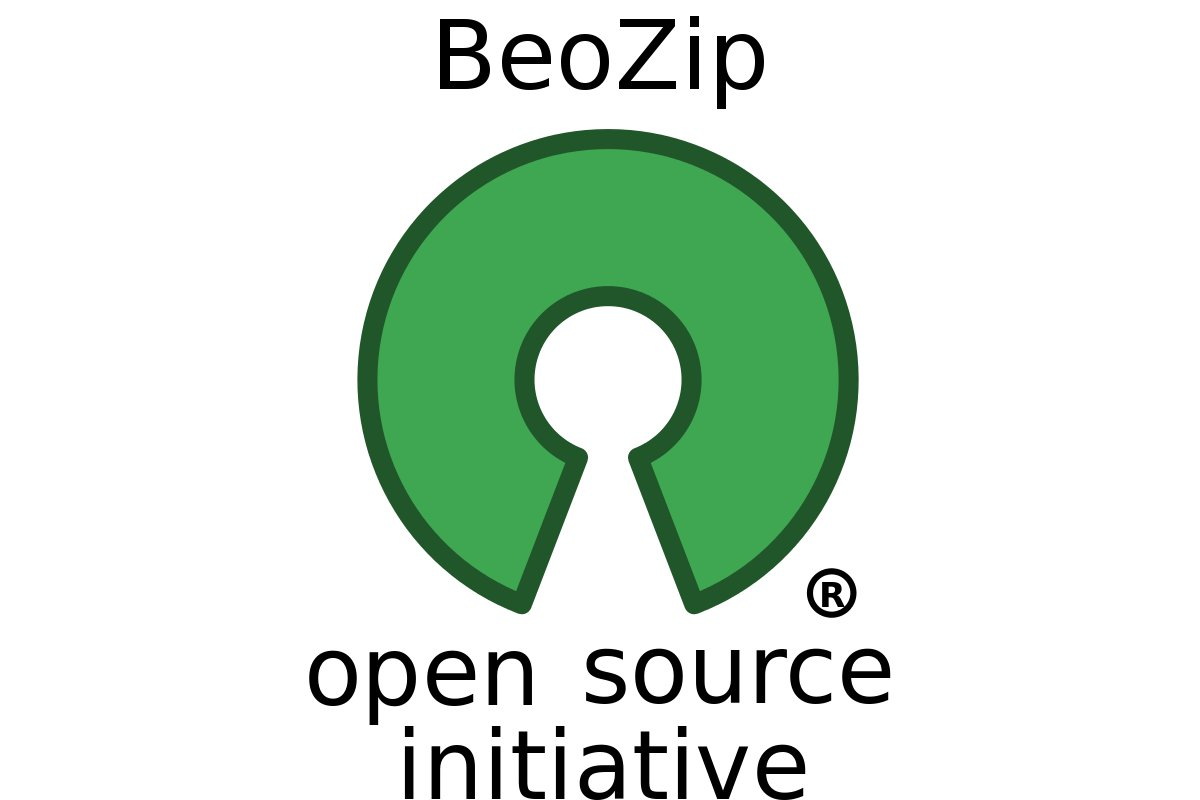 BeoZip (http://beozip.sourceforge.net/)